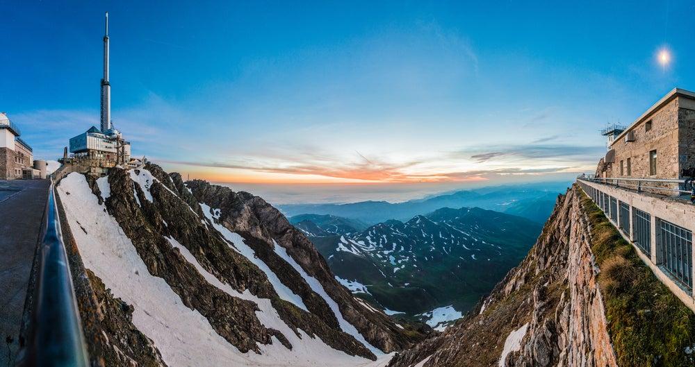 El observatorio astronómico del Midi de Bigorre en los Pirineos