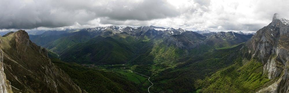 Mirador del Cable en Cantabria