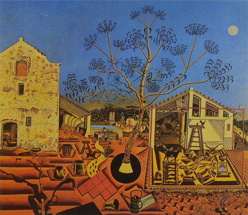 """""""La Masía"""" de Joan Miró"""