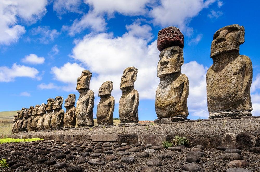¿Cómo se construyeron los moáis de la Isla de Pascua?