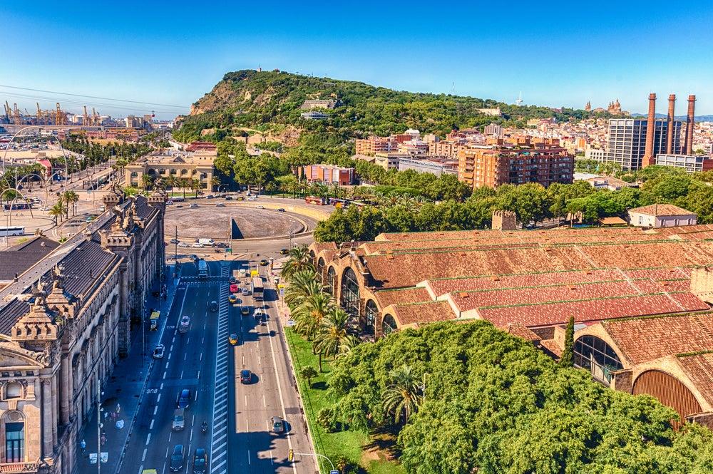 Montaña de Montjuic en Barcelona