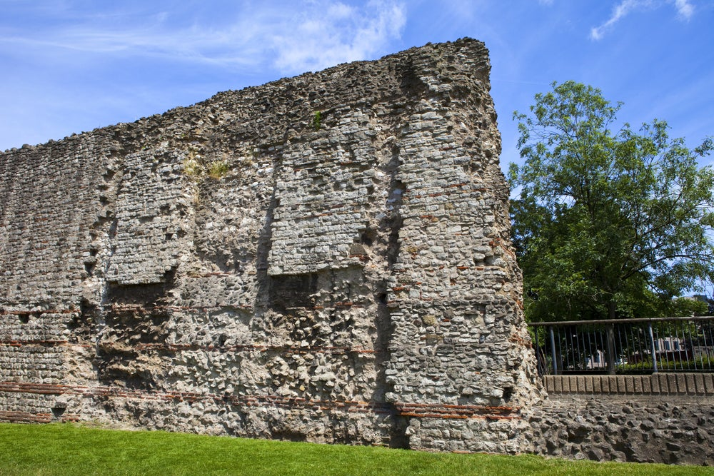 Muralla romana en Londres