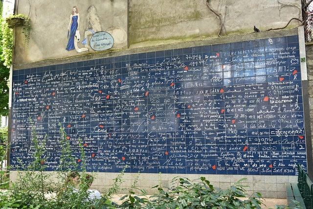 Muro je t'aime de París