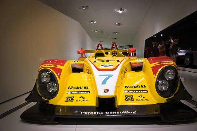 Museo Porsche en Stuttgart