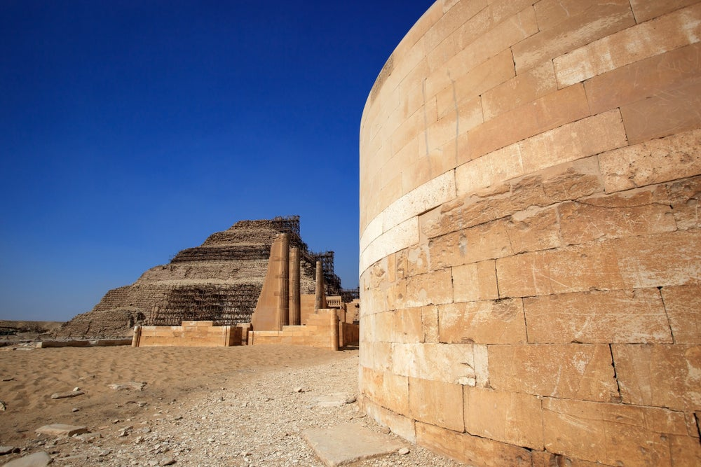 Necrópolis de Saqqara y pirámide de Zoser