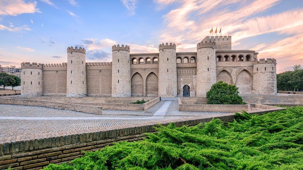 Palacio de la Aljafería en Zaragoza