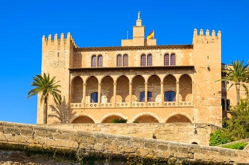 Palacio de la Almudaina en Palma de Mallorca
