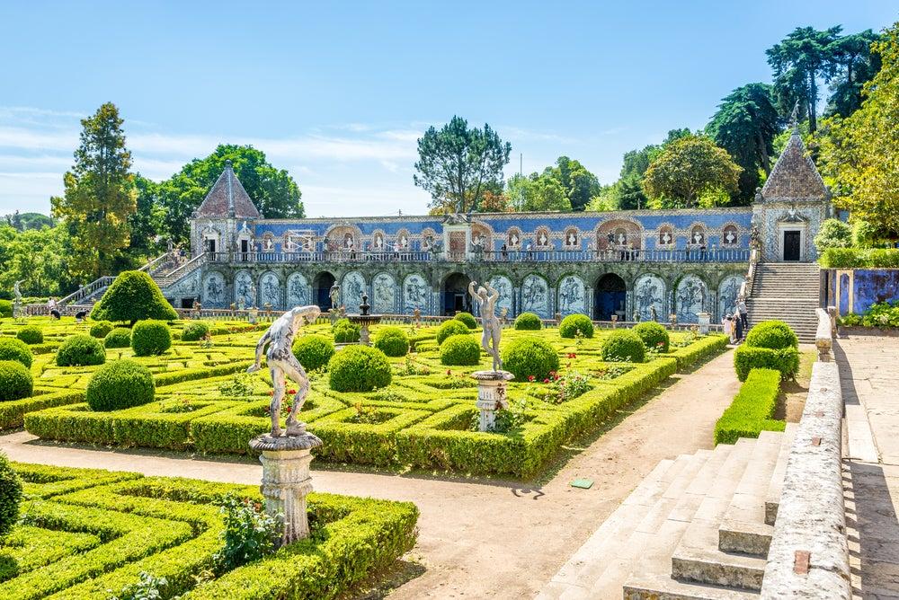 Palacio de Fronteira en Lisboa