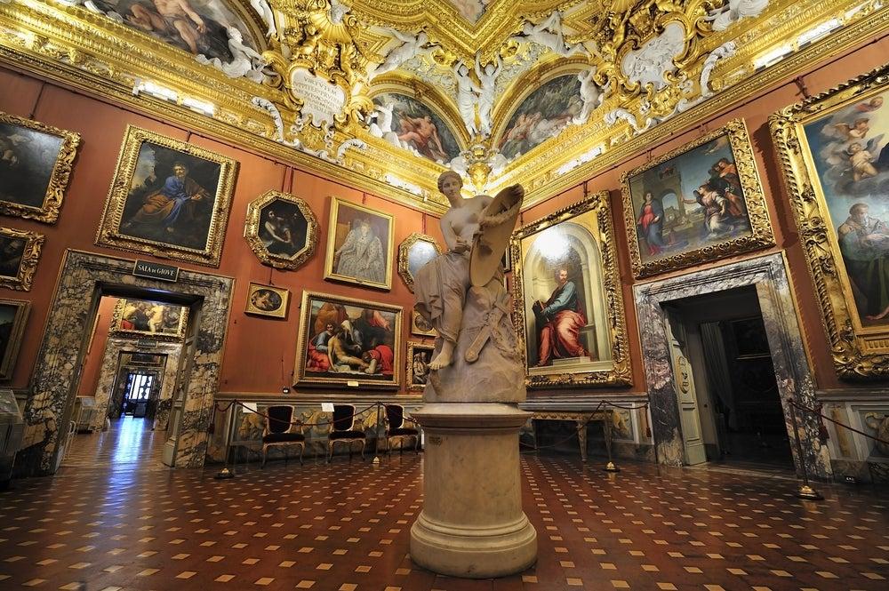 Palacio Pitti en Florencia
