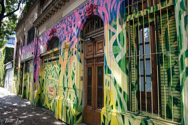Barrio de Palermo en Buenos Aires