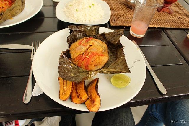 PAtarasca plato típico de Colombia