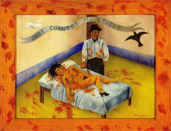 """""""Unos cuantos piquetitos"""" de Frida Kahlo"""