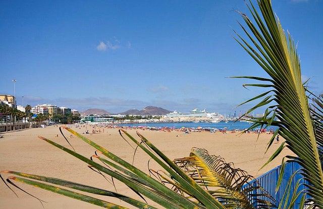 Playas de Las Palmas, las Alcaravaneras
