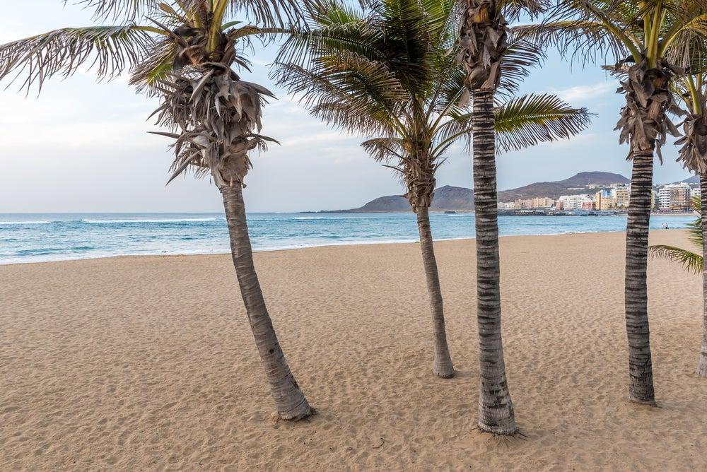 Playa de Las Canteras en Las Palmas