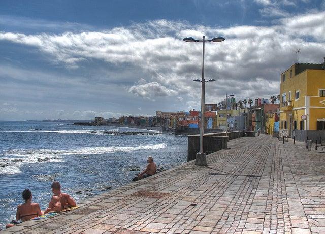 Playa de San Cristóbal en Las Palmas