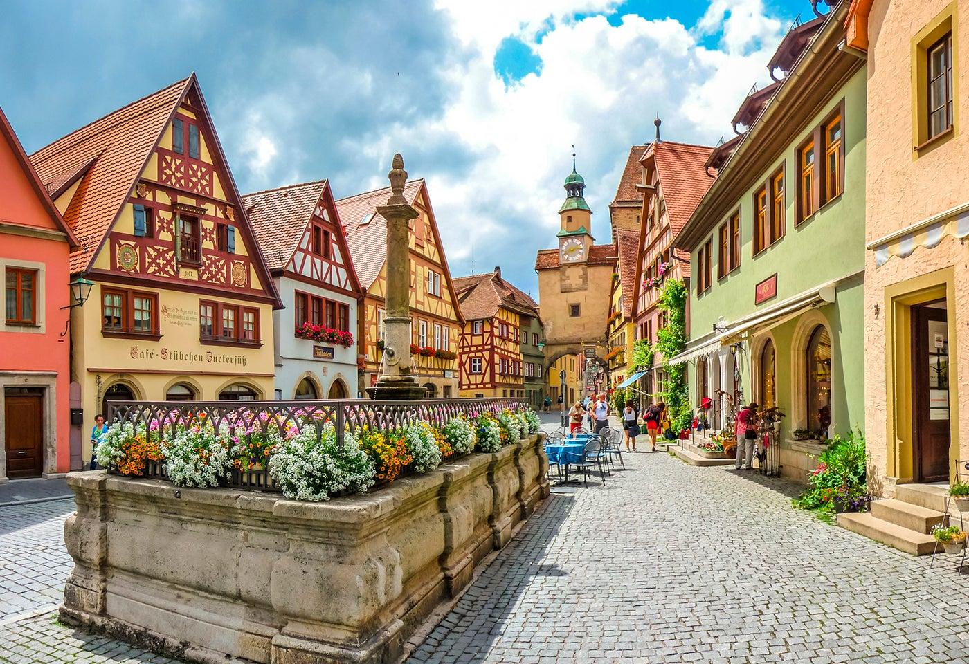 Rothenburg ob der Tauber en ALemania