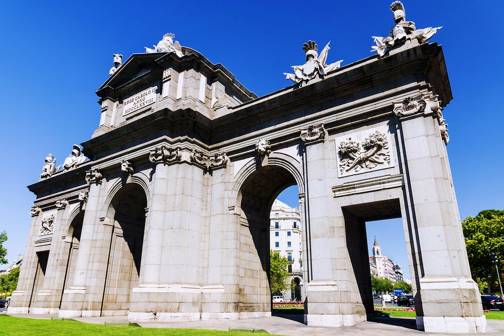 Puerta de Alcalá de Madrid