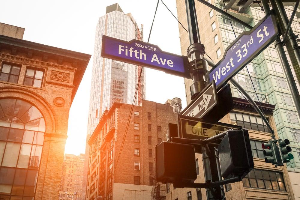 Quinta Avenida Nueva York