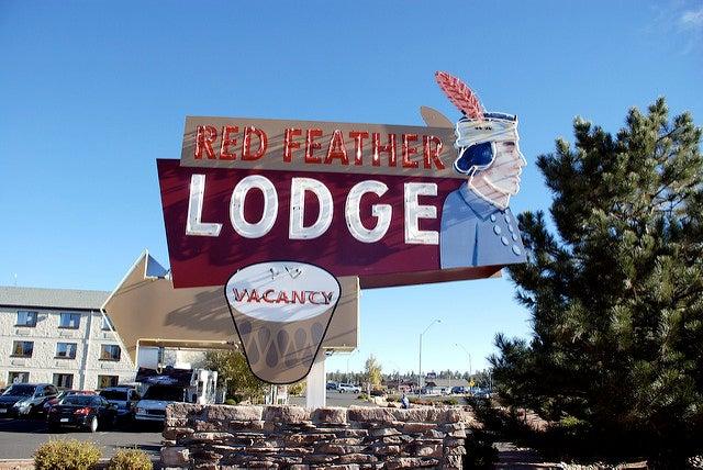 Red Feather Lodge para alojarte cercad del Gran Cañón