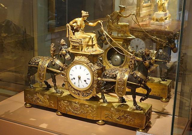 Reloj en el Museo Nacional de Artes Decorativas