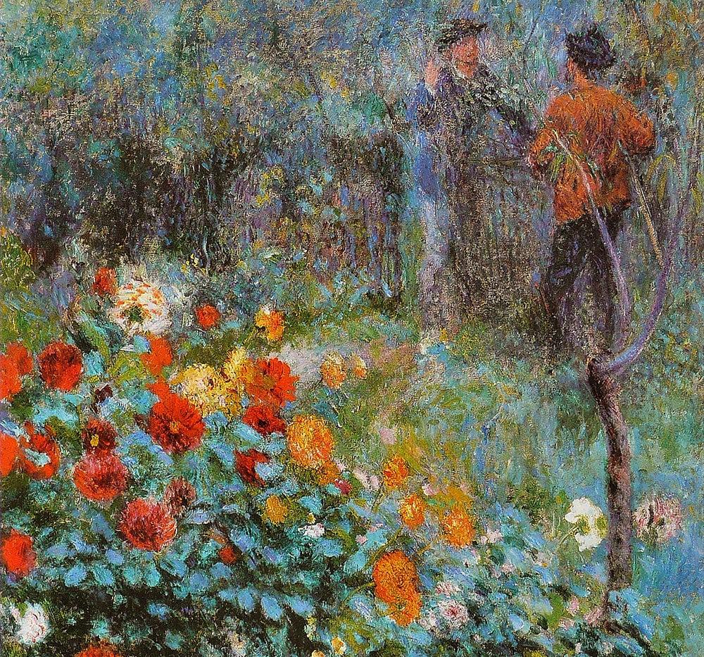 Jardín de la Rue Cortot de Renoir