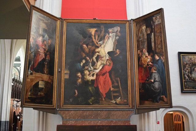 Resurrección de Cristo de Rubens