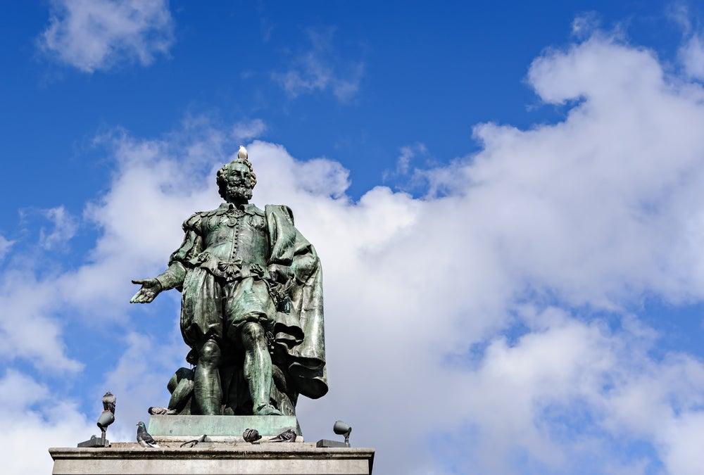 Estatua de Rubens en Amberes