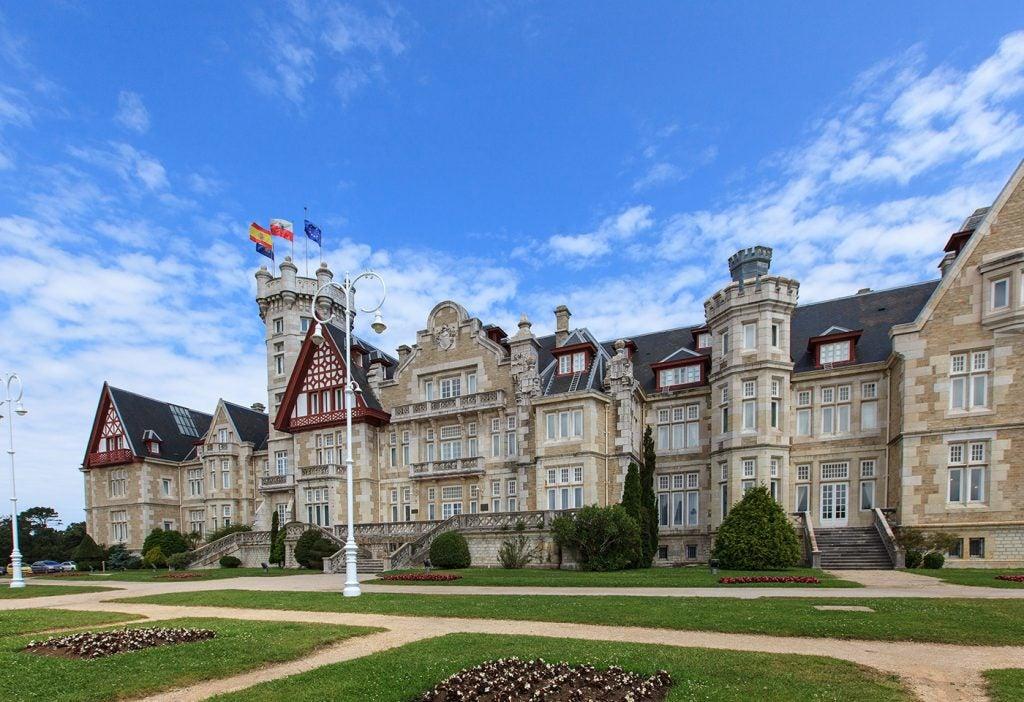 Visita el Palacio de la Magdalena de Santander