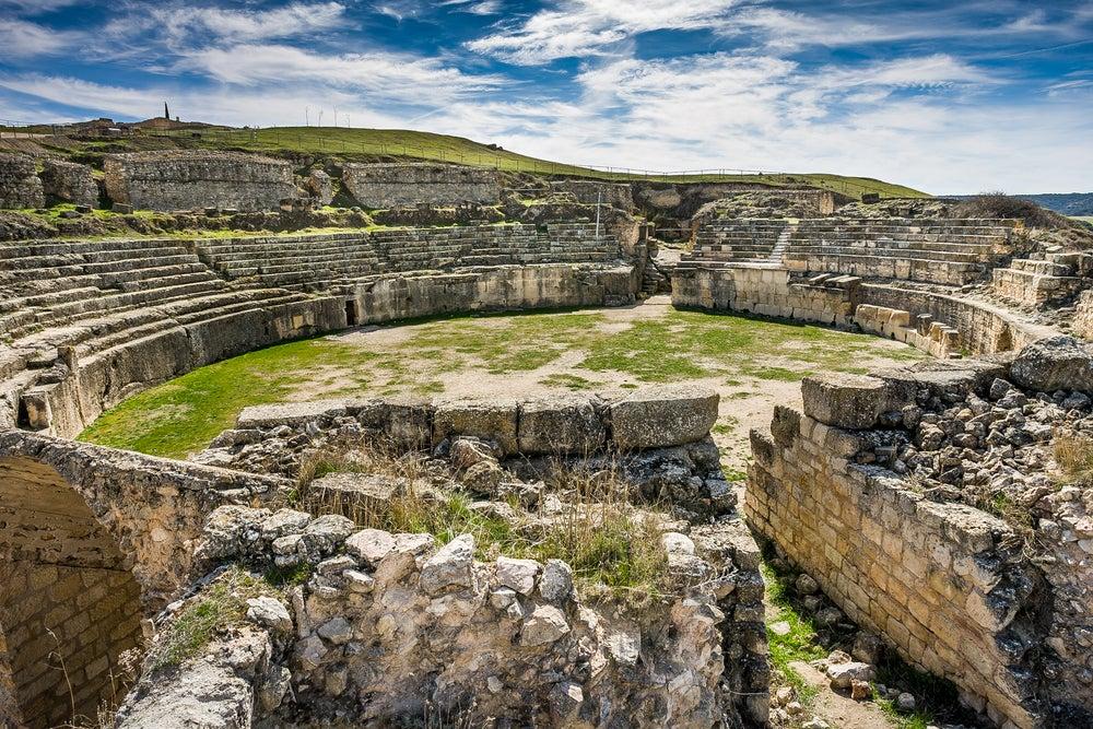 Ruinas romanas de Segóbriga en Castilla-La Mancha