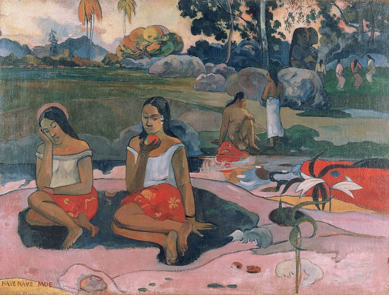 Somnolencia deliciosa de Paul Gaugin