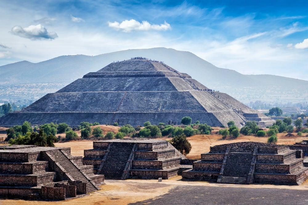 Visitar Teotihuacán una de las actividades en Ciudad de México