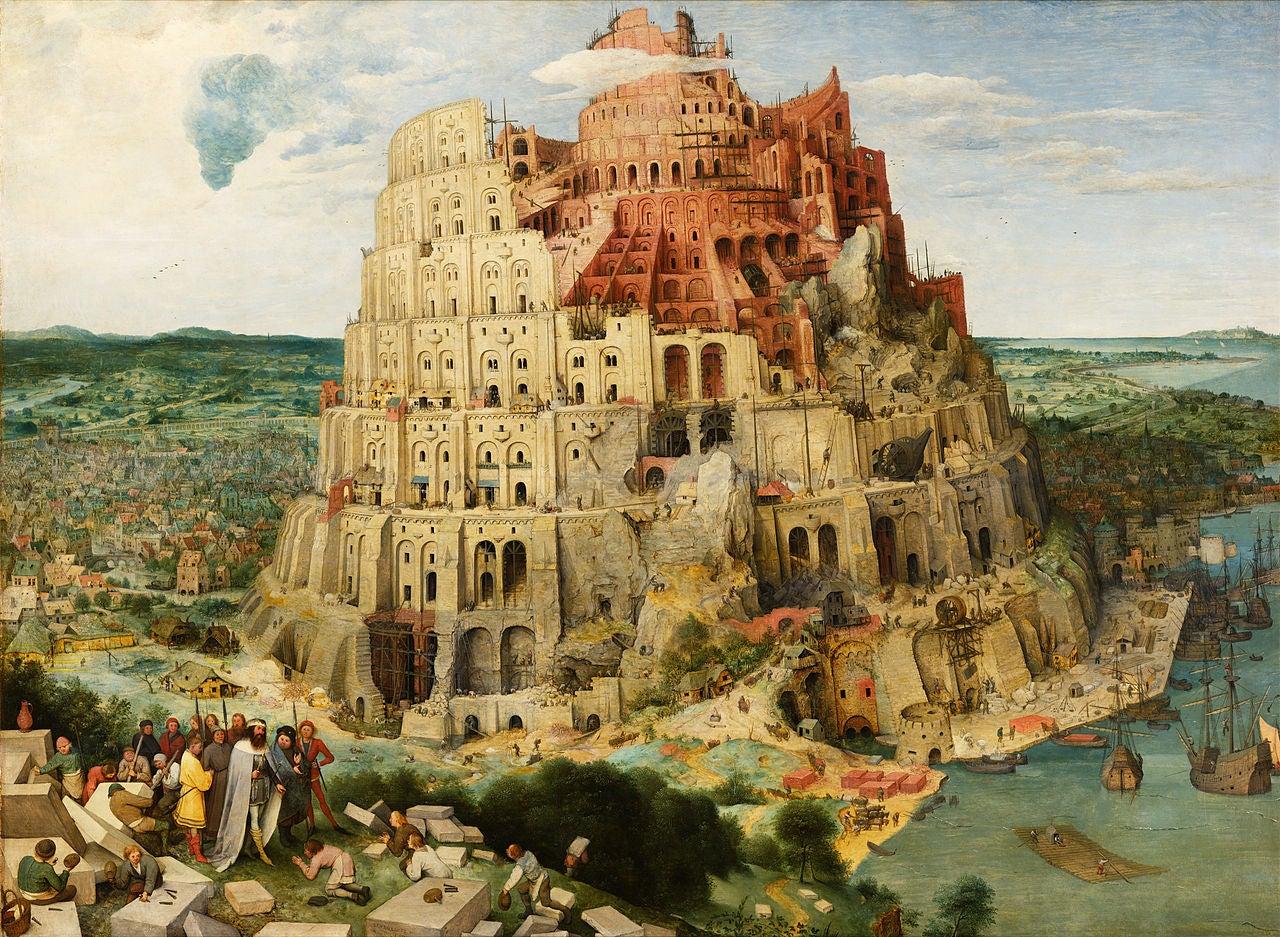 La torre de Babel de Pieter Brueghel