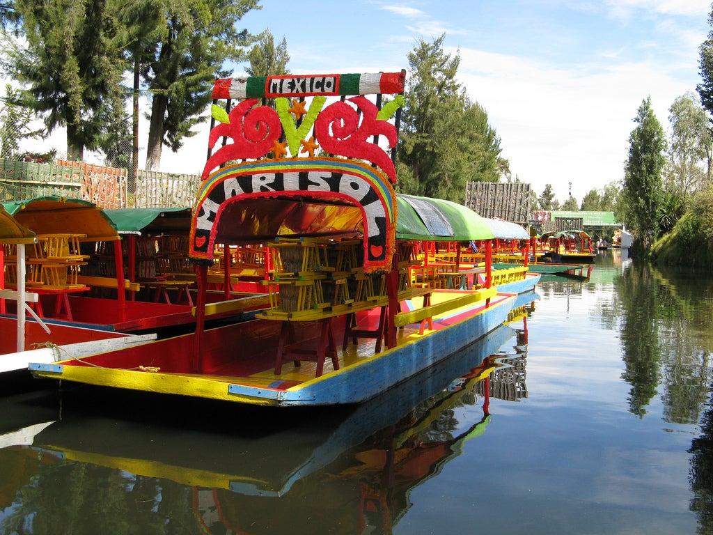 Canales de Xochimilco en México
