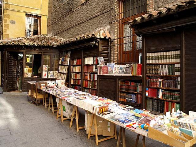 Librería San Ginés en Madrid