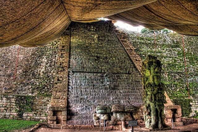 Escalinata de los Jeroglíficos de Copán