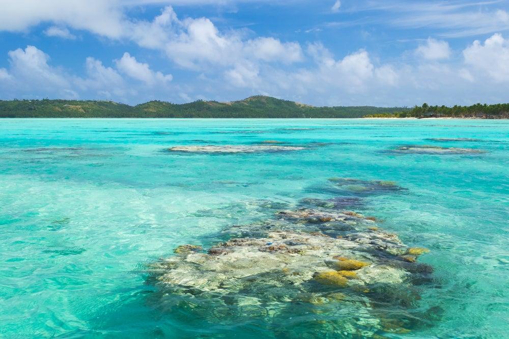 Aitutaki en las Islas Cook