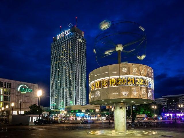 Berlín por la noche, ALexanderplatz