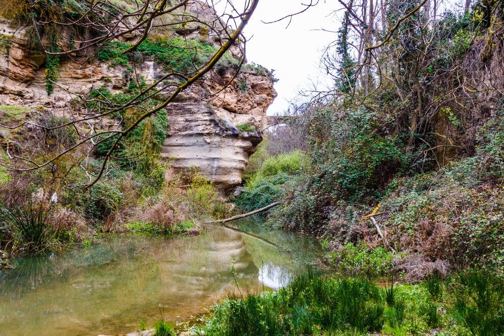Poza en Alhama de Granada