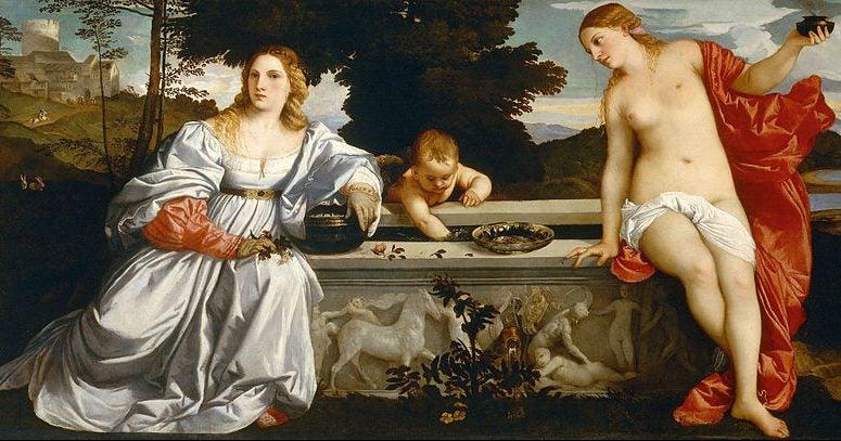 Viajamos por la obra de Tiziano Vecellio, pintor renacentista