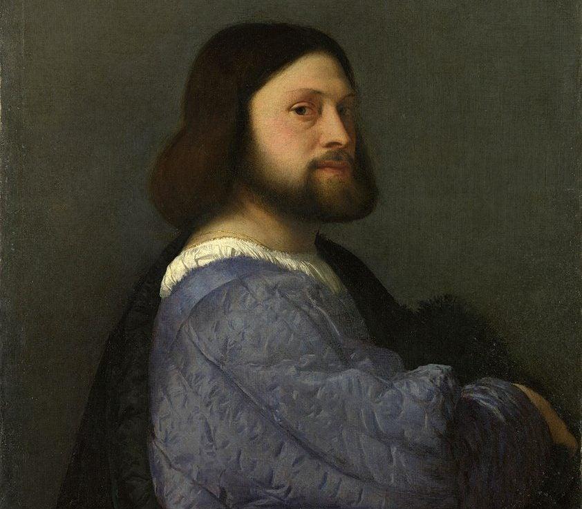 Ariosto de Tiziano Vecellio