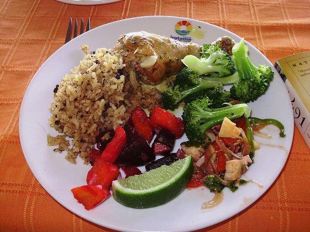 Arroz con coco, uno de los platos caribeños