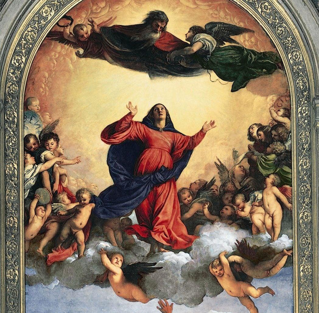 Asunción de la Virgen de Tiziano