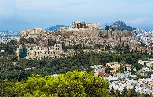 Atenas desde el monte Filopapo