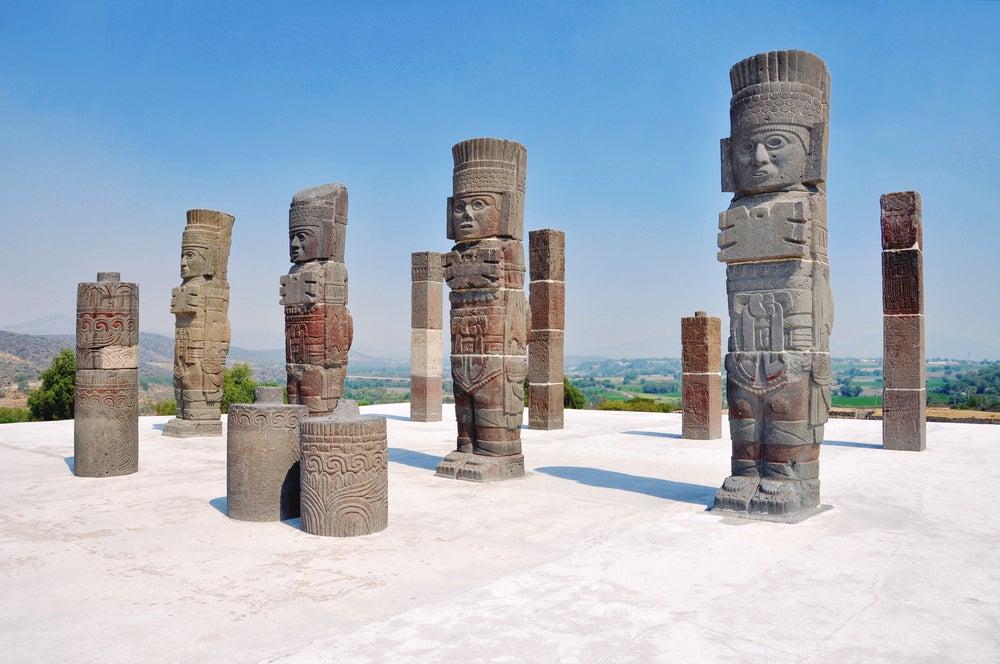 Cómo llegar a los Atlantes de Tula, uno de los tesoros de México