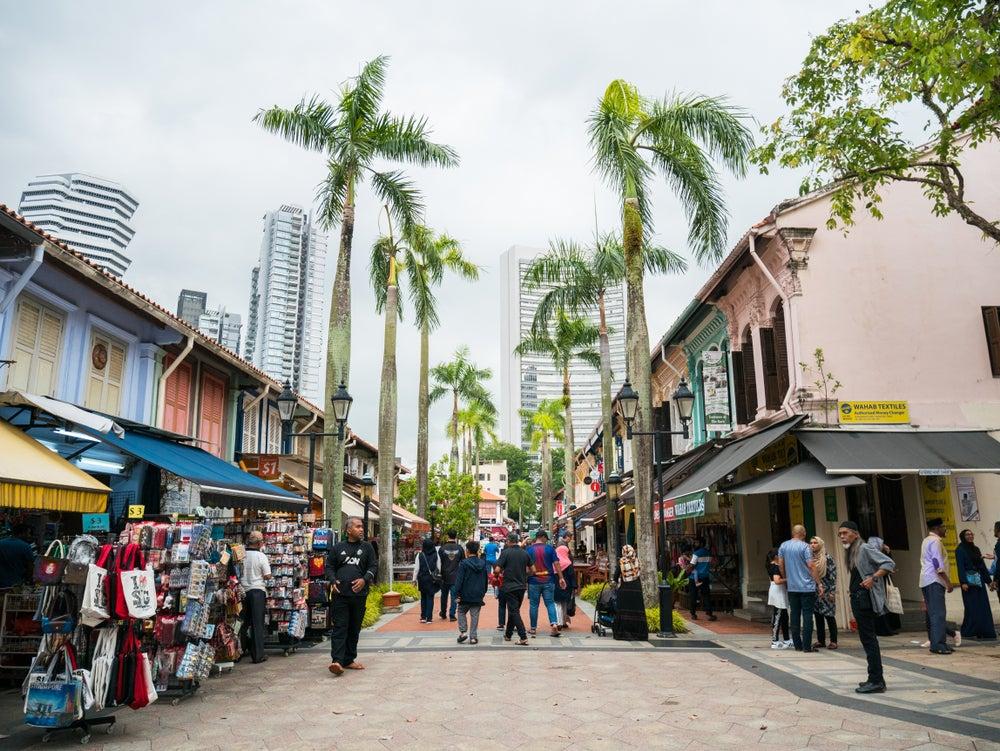Bushora Mall en Kampong Glam