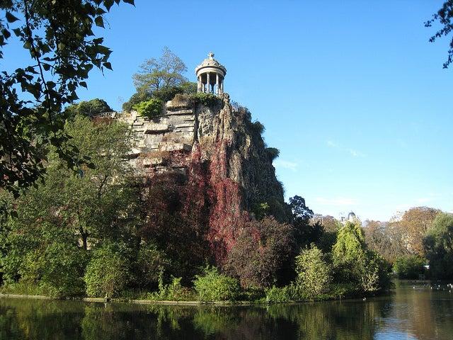 Templo en el Parque Buttes-Chaumont