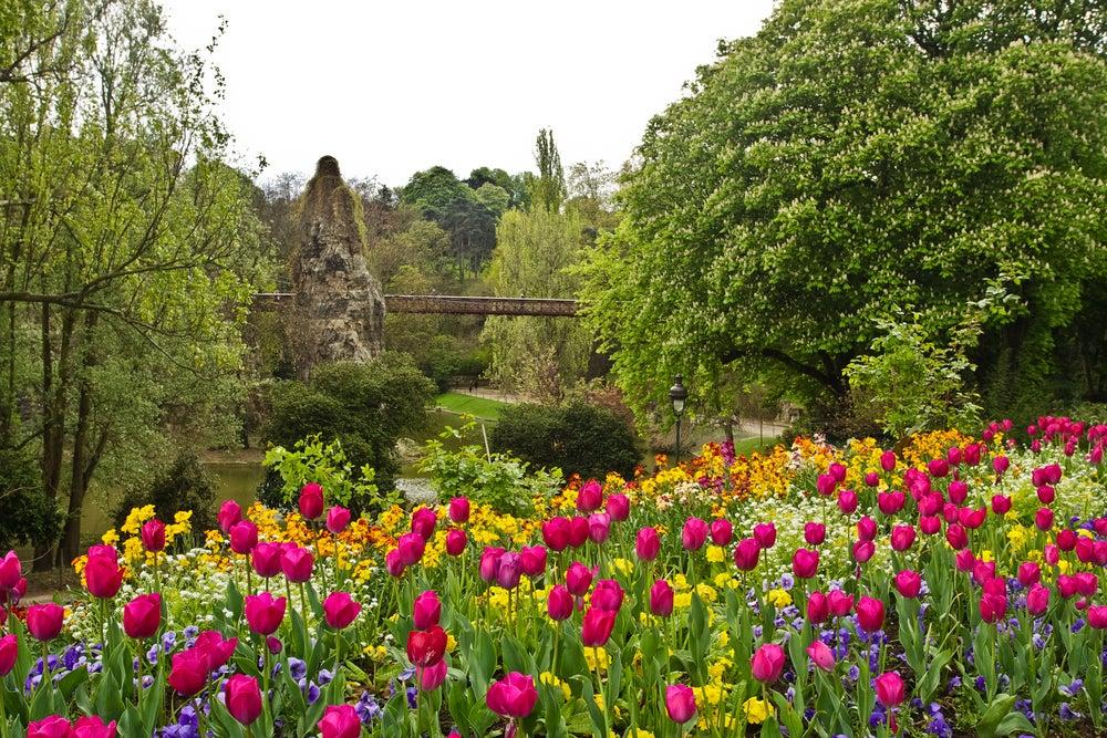Parque de Buttes-Chaumont de París