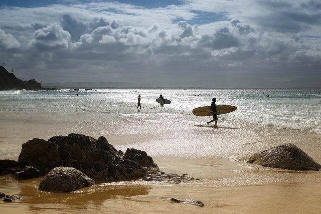 ByronBay en Australia, un lugar para aprender surf