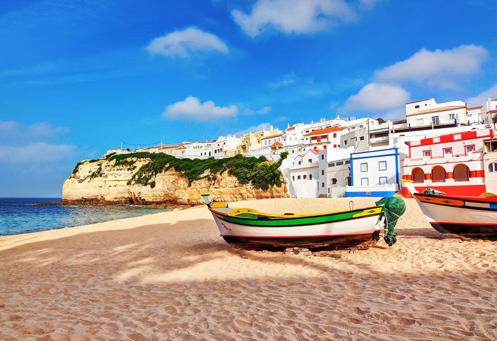 Un recorrido por el Algarve, el Caribe portugués