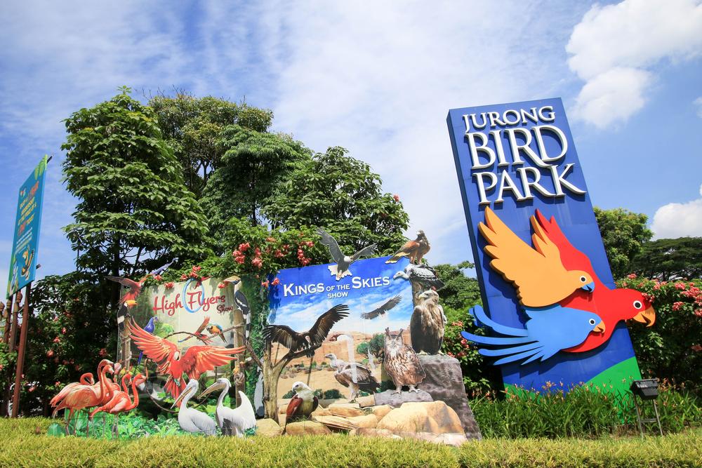 Cartel del Jurong Bird Park